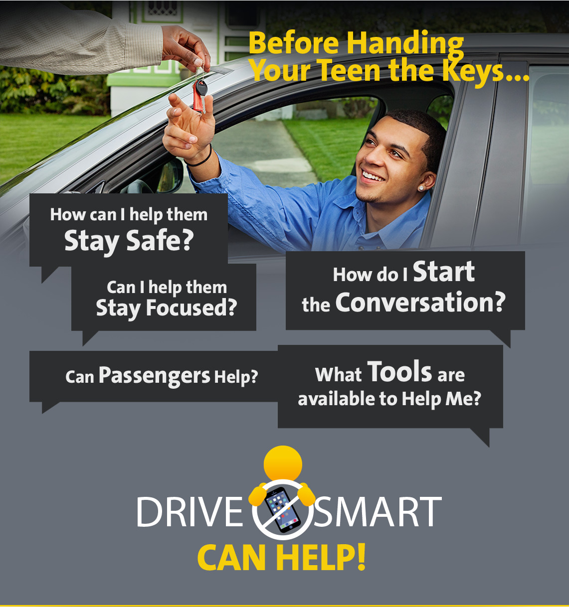 Your teen is behind the wheel... what are you thinking?